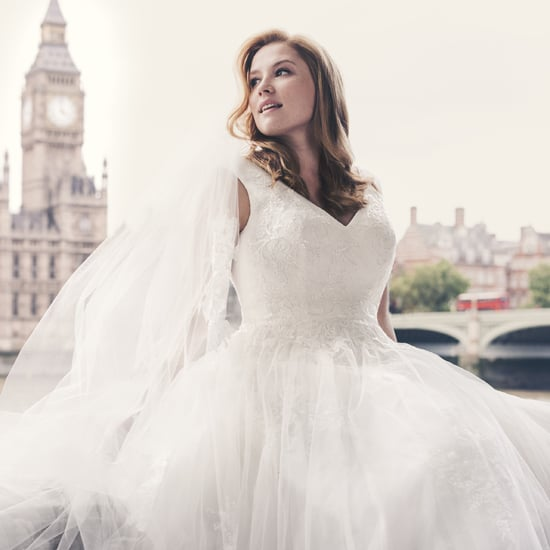 David's Bridal Plus-Size Model Campaign 2015