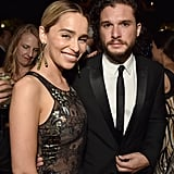 Emilia and Kit linked up at HBO's Emmys afterparty in 2018.