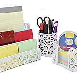 3-in-1 Floral Desk Organizer
