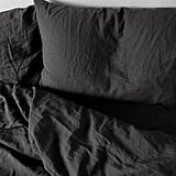 Bed Thread Charcoal 100% Flax Linen Bedding Set, From $230