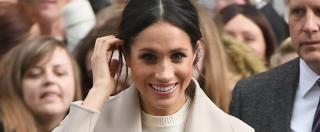 Meghan Markle's Bun Hairstyle March 2018