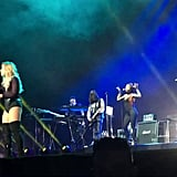 """Cyndi Lauper's """"Girls Just Wanna Have Fun"""" With Paulina Rubio in Mexico in 2016"""