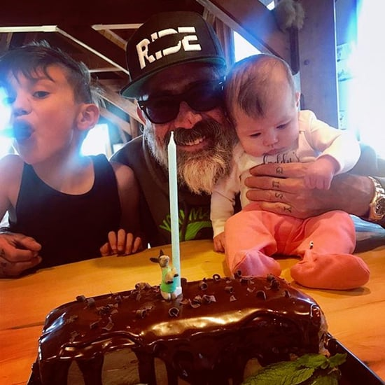 Jeffrey Dean Morgan Birthday Photo With His Kids 2018