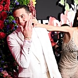 G-Eazy and Yasmin Wijnaldum at the 2019 Diamond Ball