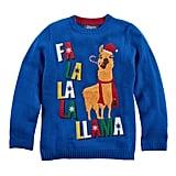 Fa La La Llama Ugly Christmas Sweater