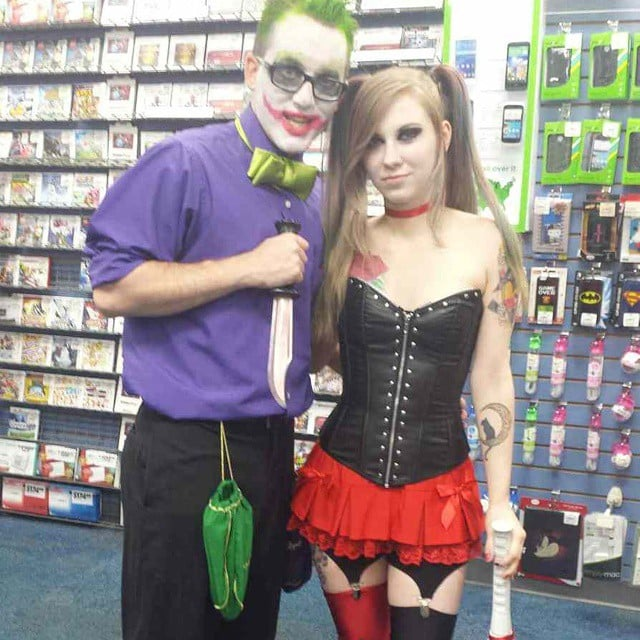 Harley Quinn and the Joker  sc 1 st  Popsugar & Harley Quinn and the Joker | Sexy Couples Halloween Costumes ...