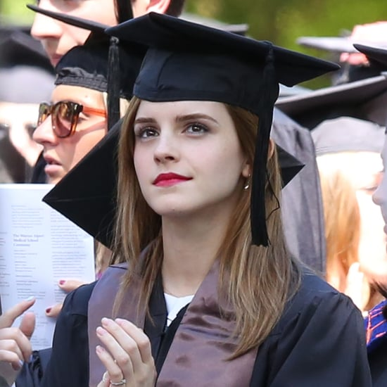 Emma Watson Graduates From Brown University