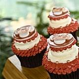 Rose Gold Cupcake With Guava Cream
