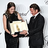 Sean Penn Honors Shailene Woodley With the Trophee Chopard at Cannes