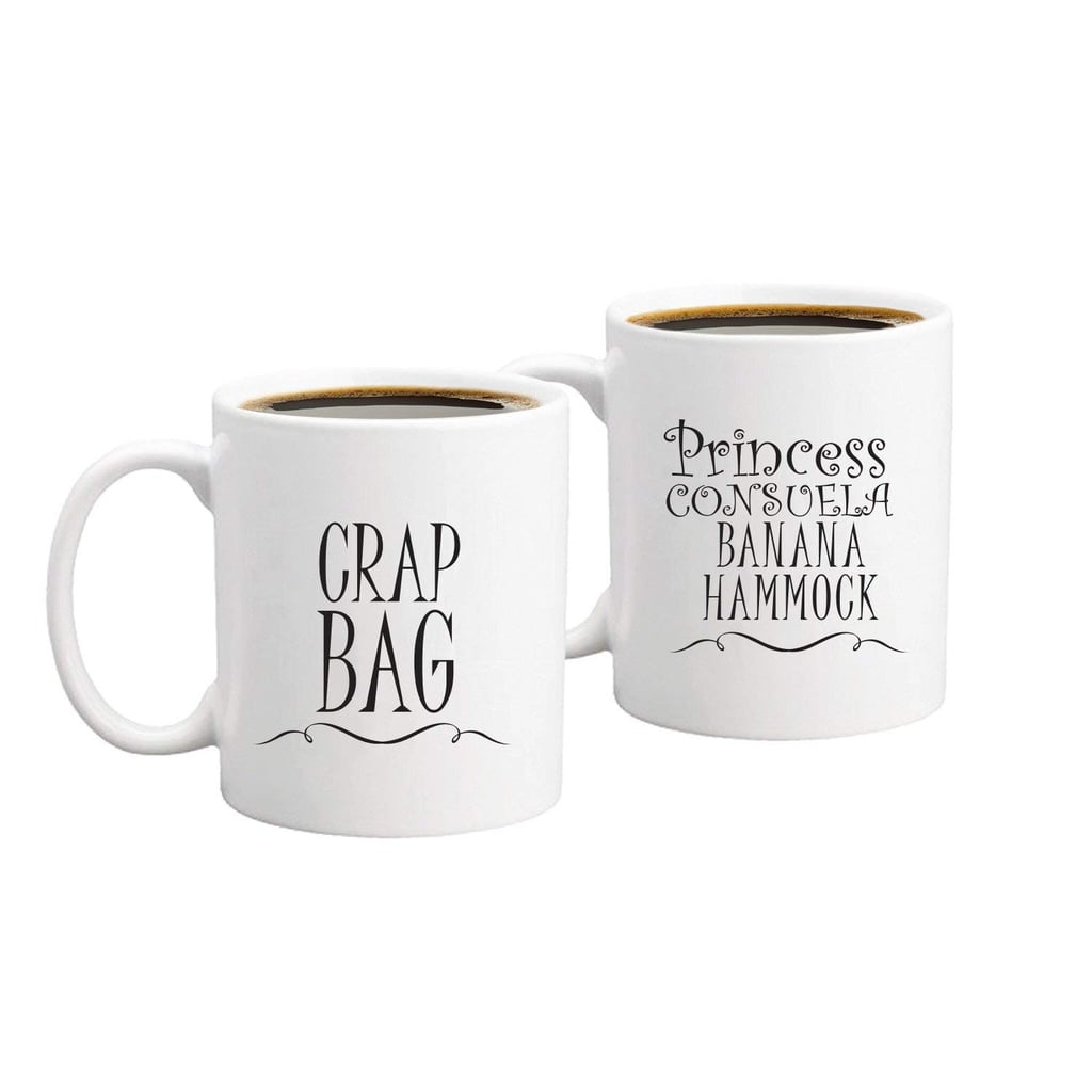 Princess Consuela Banana Hammock & Crap Bag Funny Coffee Mugs