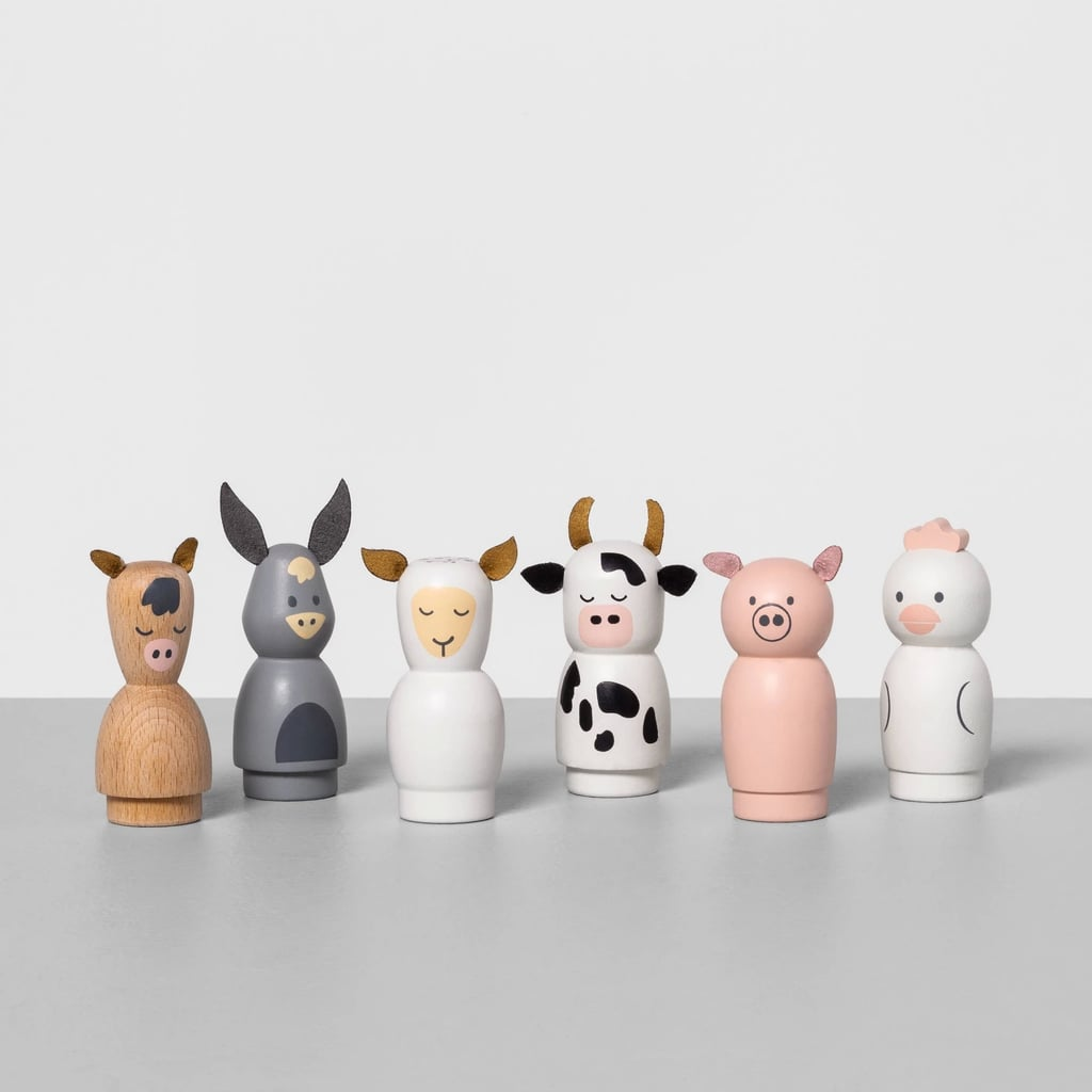 Wooden Peg Play Animals