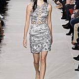 At Michael Kors, Kendall Walked the Runway in a Silver Dress