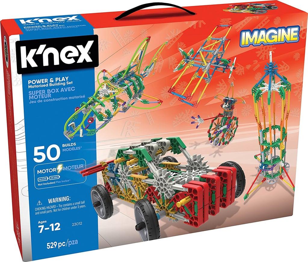 K'Nex Imagine Power & Play Motorized Building Set Building Kit