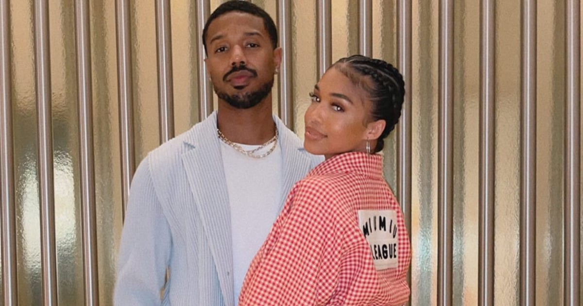 Lori Harvey and Michael B. Jordan Spend 17 Hours in Vegas, and Their Outfits Are a 10.jpg