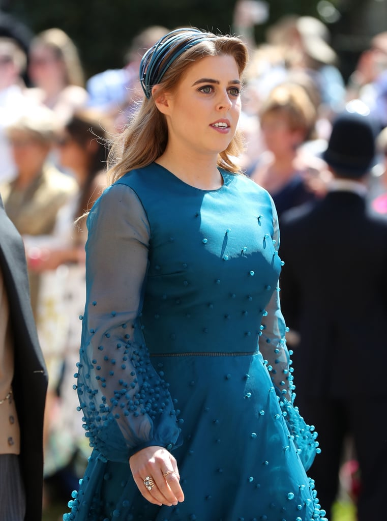 Princess Beatrice Dress at Royal Wedding 2018
