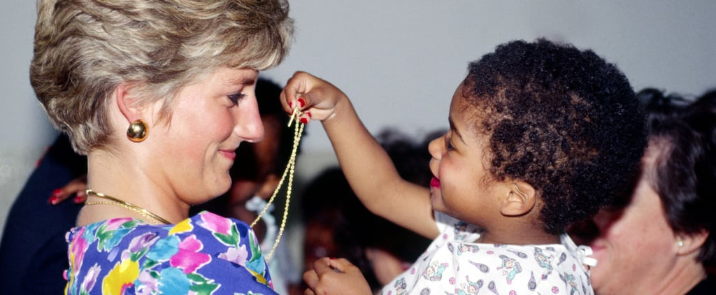 Princess Diana With Kids Pictures