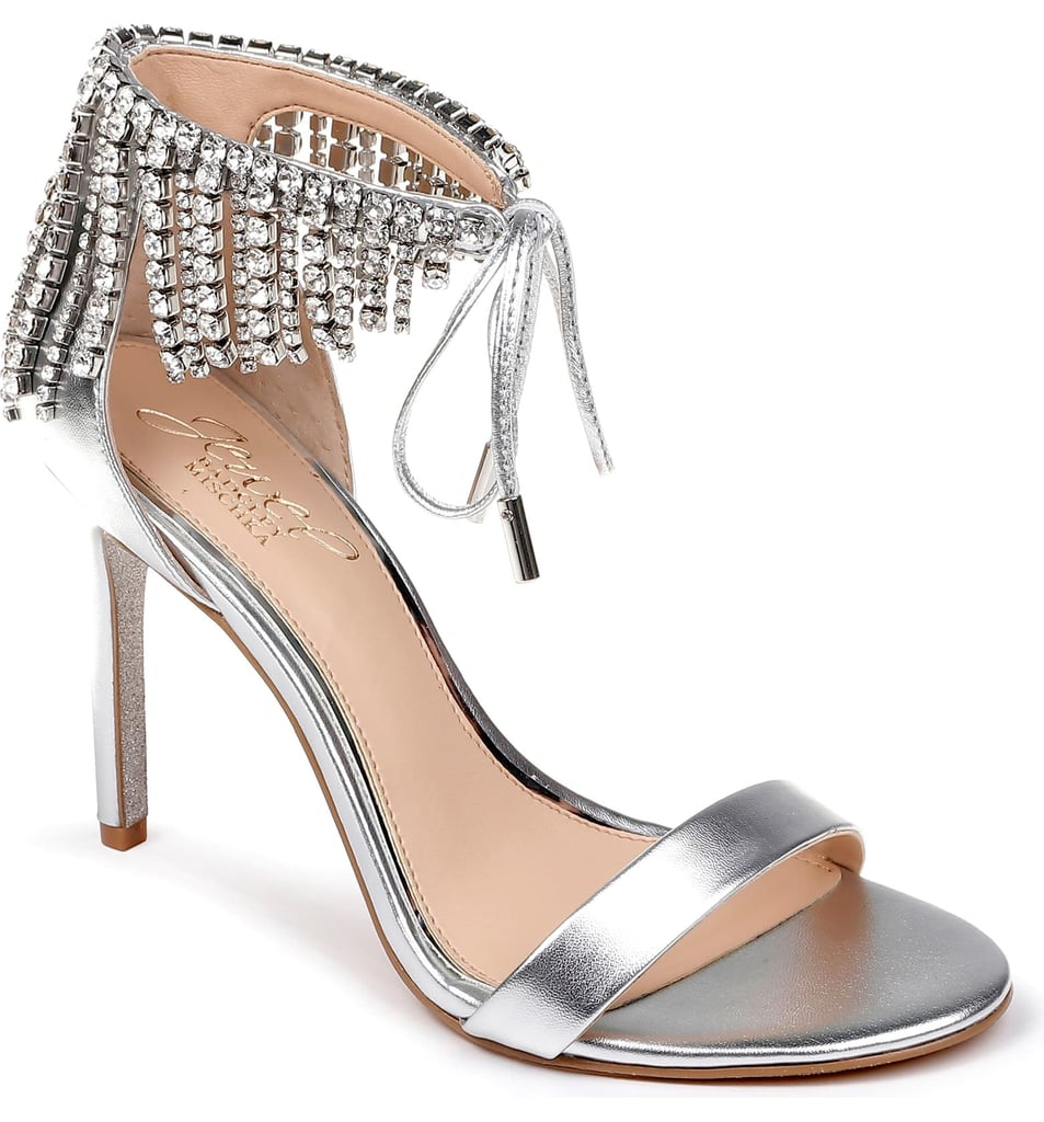Jewel Badgley Mischka Darielle Ankle Strap Sandal