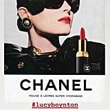 Oscars 2020: Lucy Boynton's Hair and Makeup