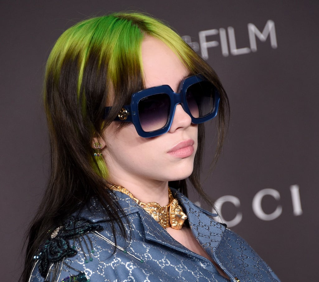 Billie Eilish's Mullet Haircut