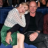 Sting et Trudie Styler