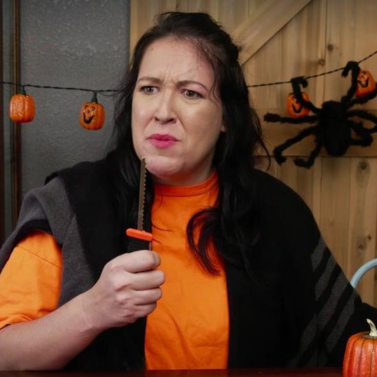 Video of Mums on Halloween in the '80s Versus Today