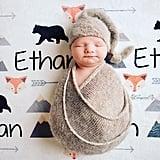 Woodland Animal Blanket