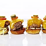 Mini Kobe Burgers With Aged Cheddar and Remoulade