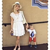 Reese hung out in New Orleans with her youngest son.
