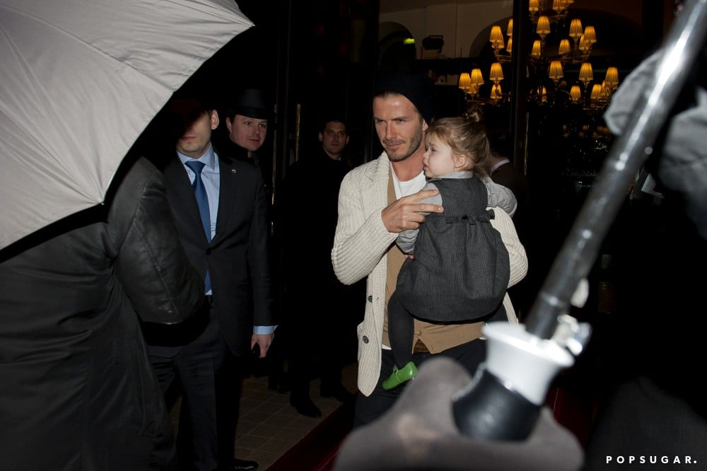 The Beckhams Celebrate Cruz's Birthday in the City of Light