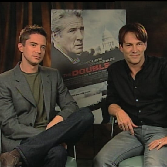 Stephen Moyer and Topher Grace The Double Interview (Video)