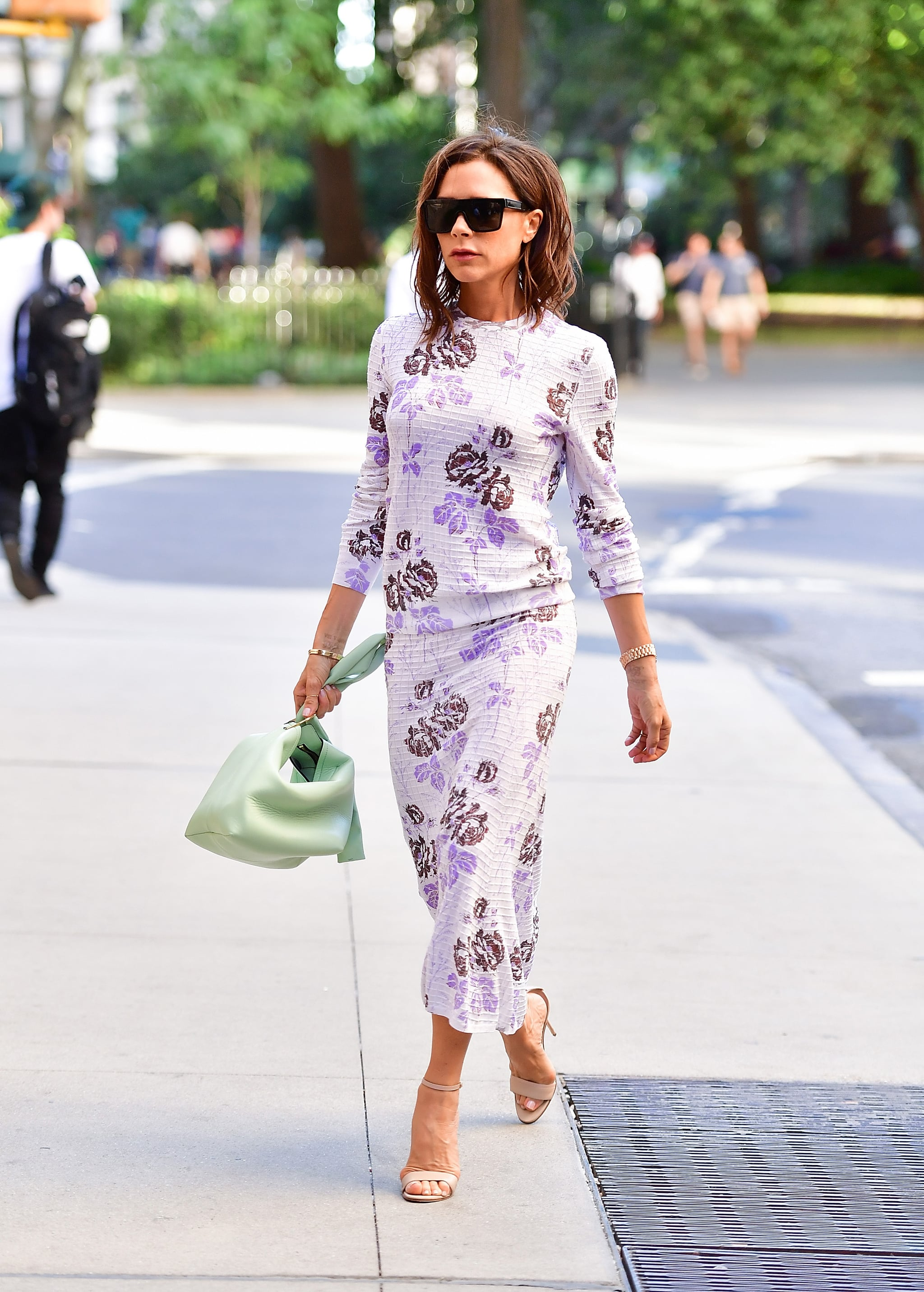 Fashion Shopping Style Victoria Beckham Wore A Purple Wedding Dress You Might Not Remember Popsugar Fashion Middle East Photo 5