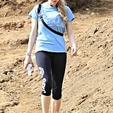 Amanda Seyfried took a hike in LA on Thursday.
