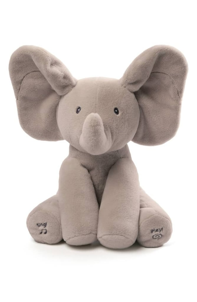 """For 1-Year-Olds: Baby Gund """"Flappy the Elephant"""" Musical Elephant"""