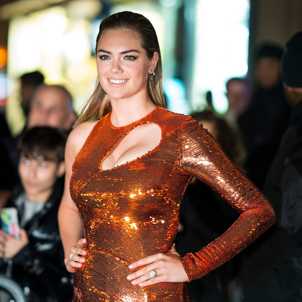 Kate Upton Emilio Pucci Dress At Sports Illustrated Party Popsugar Fashion Middle East