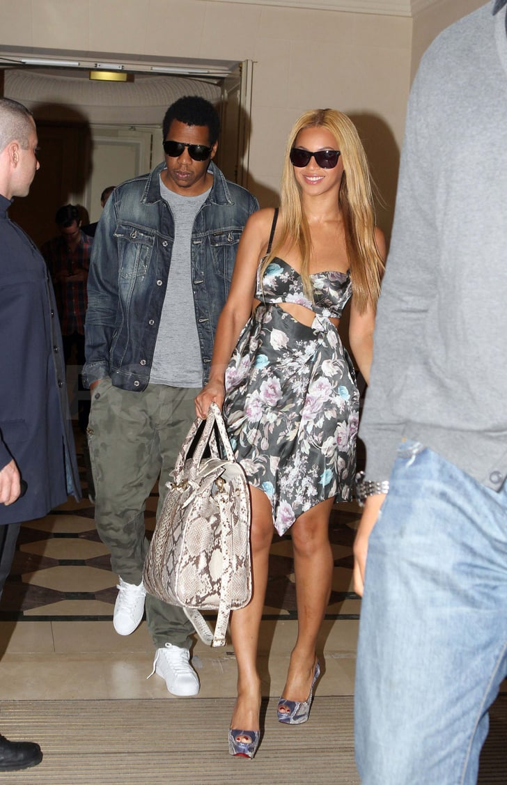 Jay-Z Takes His Girl Beyoncé on a Postanniversary Paris Getaway