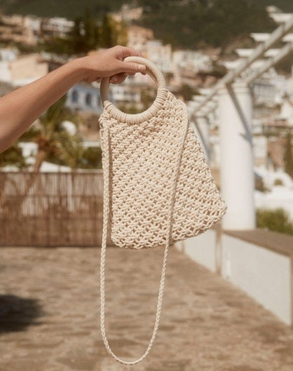 Glassons Mini Knitted Bag