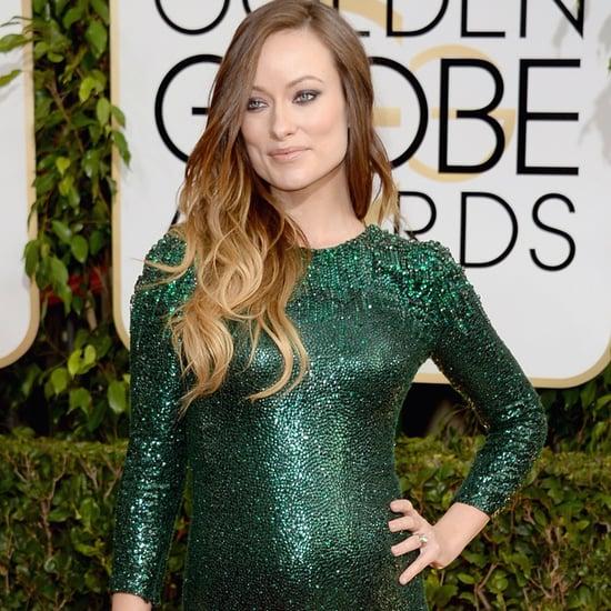 Olivia Wilde Dress on Golden Globes 2014 Red Carpet
