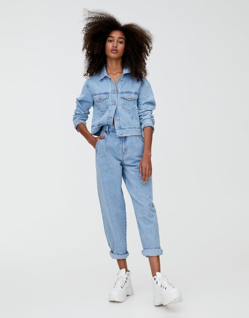 Pull&Bear High Waist Gaucho Jeans