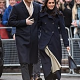 Meghan Has Already Shown She Can Work a Tailored Coat