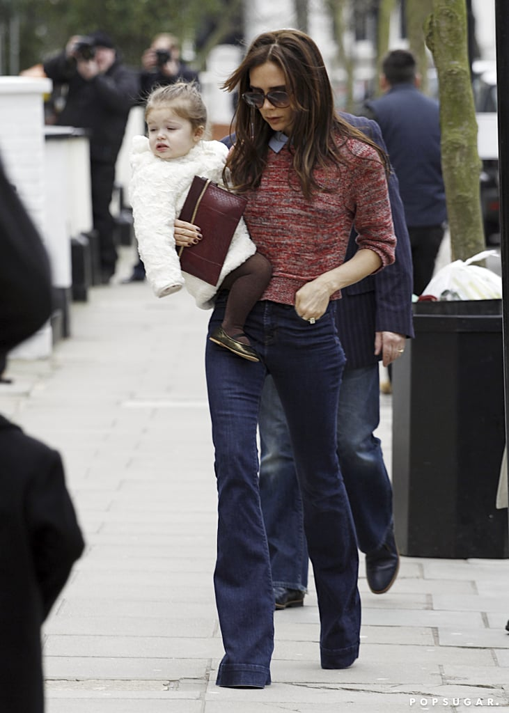 Victoria Takes Harper Out For a Family Day as She Shares Big News