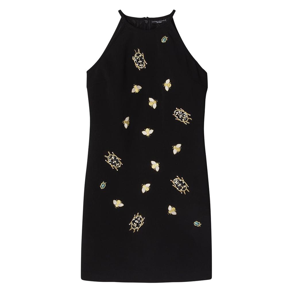 Black Embellished Bug Dress ($60)