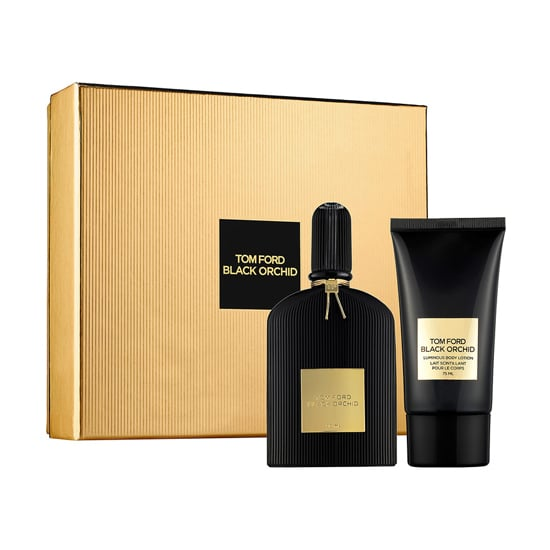 Tom Ford Black Orchid Holiday Set ($110) may be one of the sexiest scents available for a woman (or man). Notes of bergamot, gardenia, sandalwood, and vanilla make this one gift your favorite couple can share.