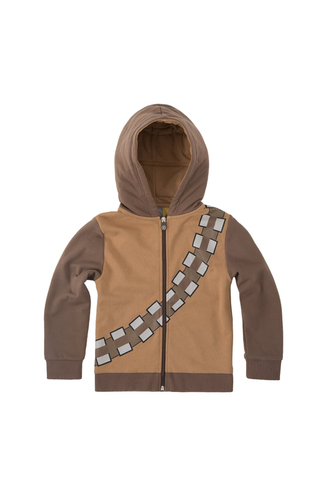 It Expands to Become a Cozy Brown Hoodie