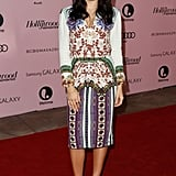 Jenna Dewan-Tatum posed on the red carpet at The Hollywood Reporter's Power 100: Women in Entertainment breakfast in LA.