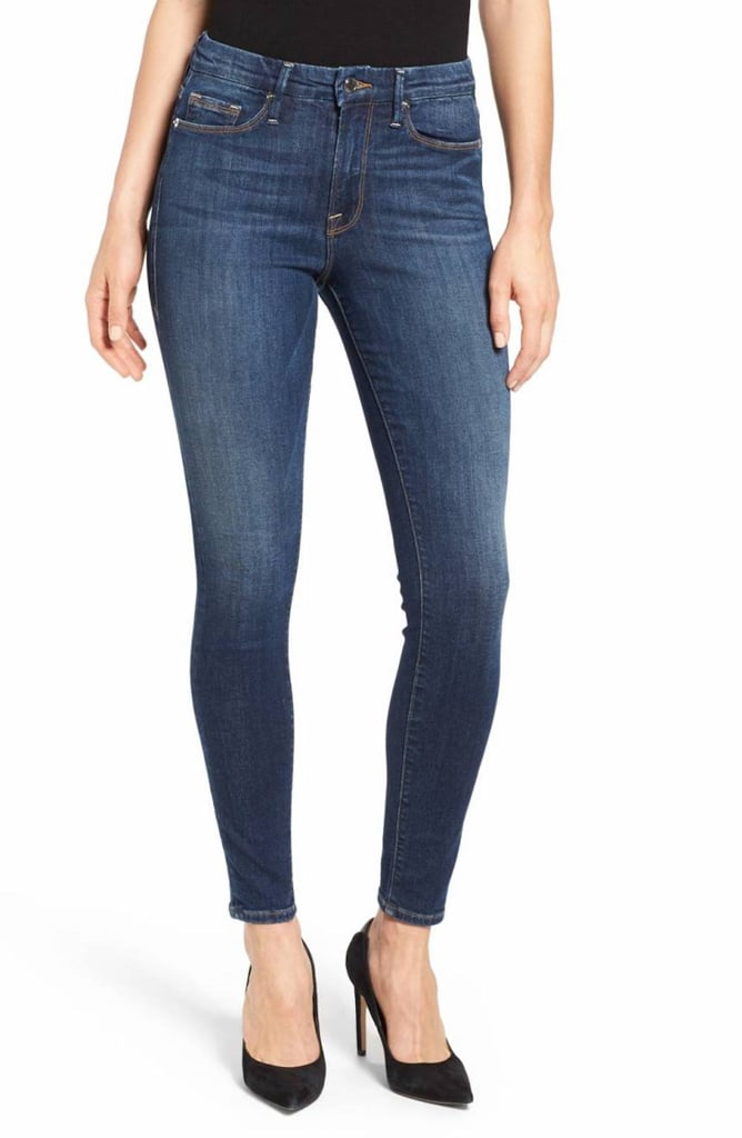 Good American's Good Legs High Rise Skinny Jeans