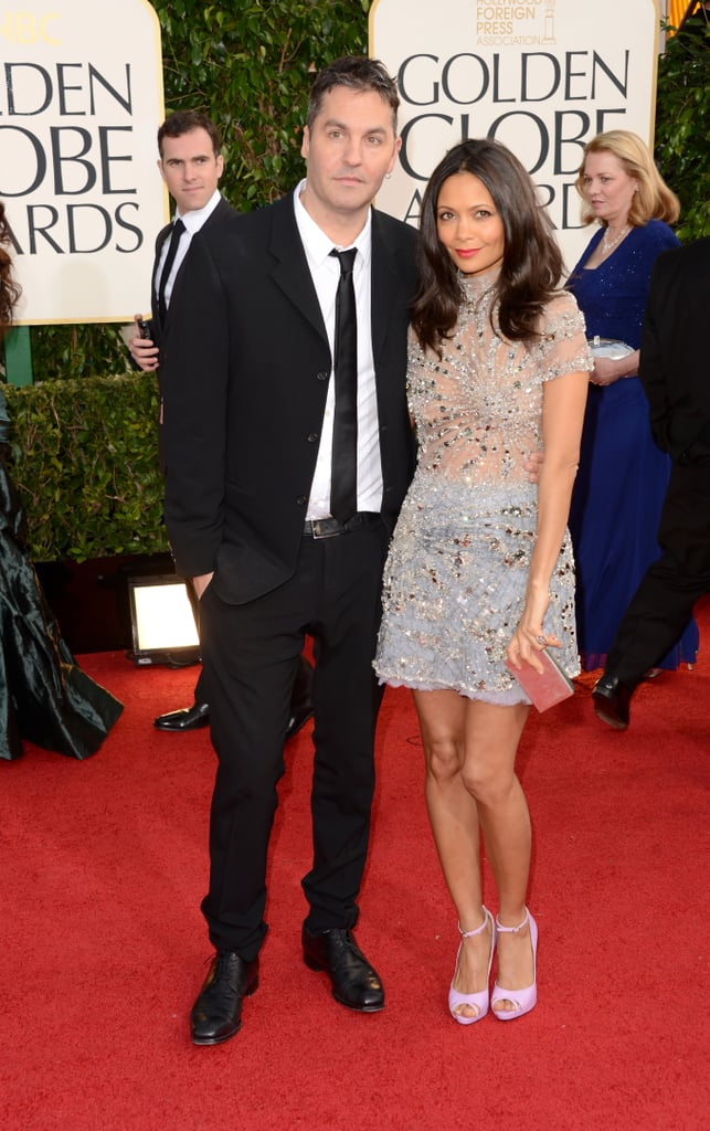 Ol Parker and Thandie Newton