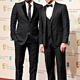 Ben Affleck posed with friend Bradley Cooper at the BAFTA Awards.
