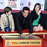 2013: Ben's Handprint Ceremony