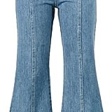 Sandy Liang Tinder Flared jeans