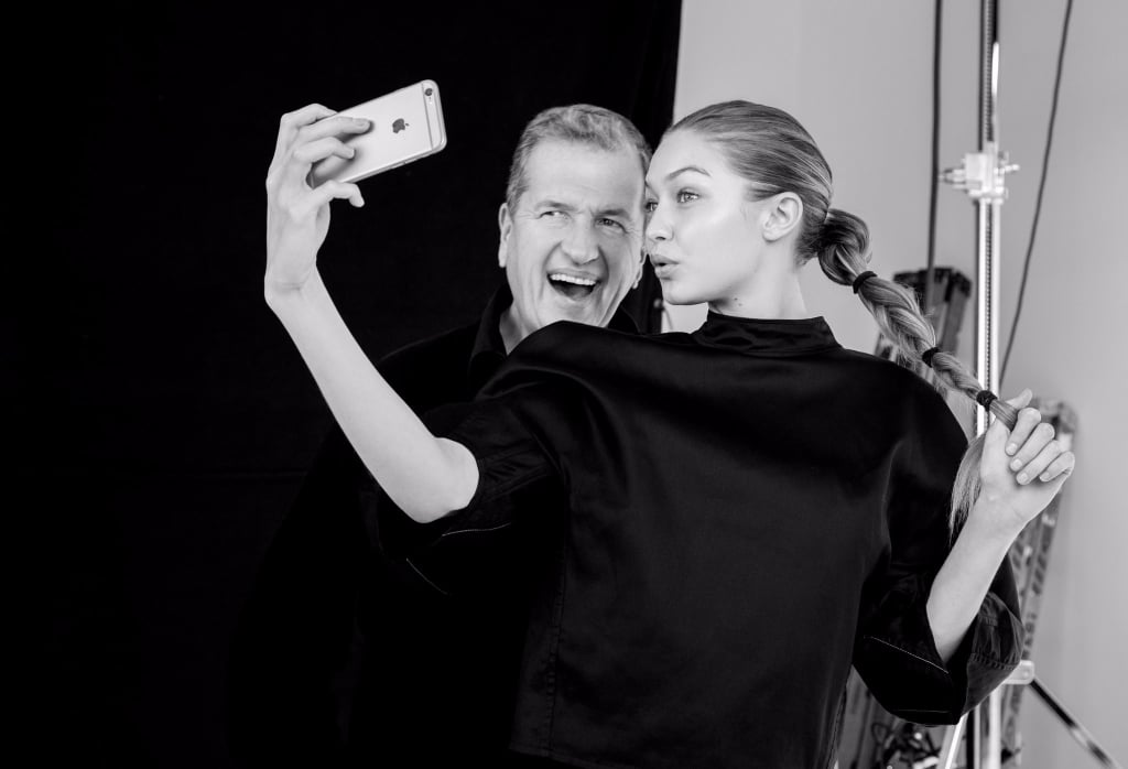 Here's Why Gigi Hadid Said She Had to Go to the Chiropractor After a Photoshoot